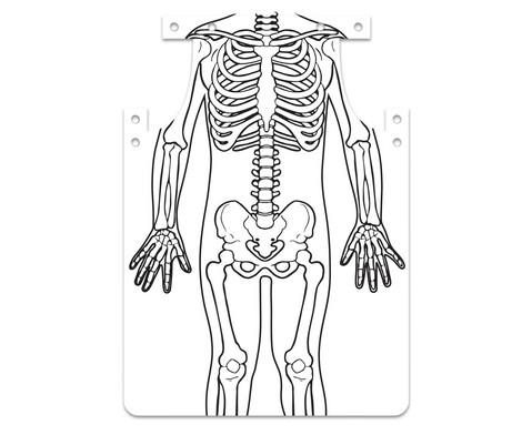 Skelett-Schuerze zum Selbstgestalten