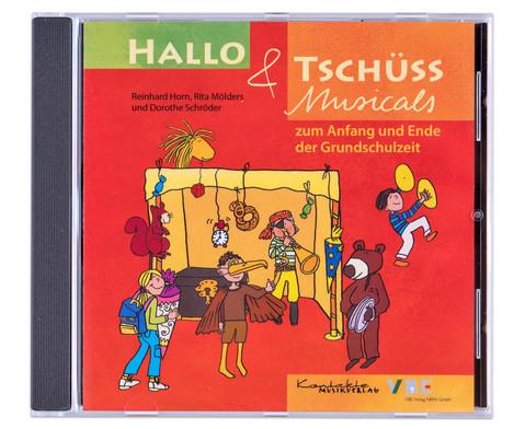 CD - Hallo und Tschuess Musicals