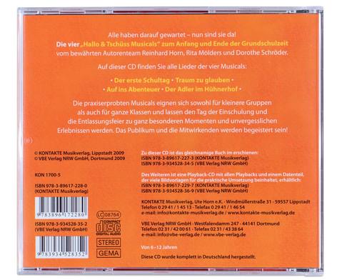 CD - Hallo und Tschuess Musicals-2