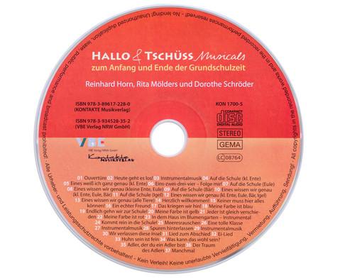 CD - Hallo und Tschuess Musicals-5