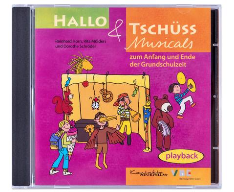 Playback-CD - Hallo und Tschuess Musicals