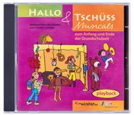 Playback-CD - Hallo und Tschüss Musicals
