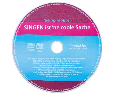 CD - Singen ist ne coole Sache-5