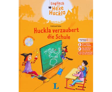Huckla verzaubert die Schule - Englisch Buch TING-Edition-1