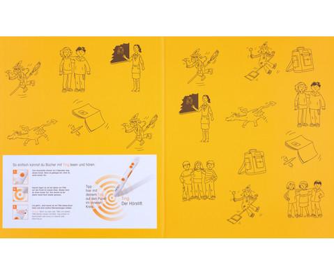 Huckla verzaubert die Schule - Englisch Buch TING-Edition-2