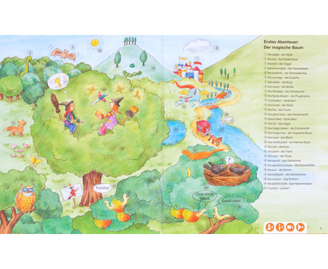 Huckla verzaubert die Schule - Englisch Buch TING-Edition-3