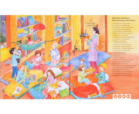Huckla verzaubert die Schule - Englisch Buch TING-Edition-4
