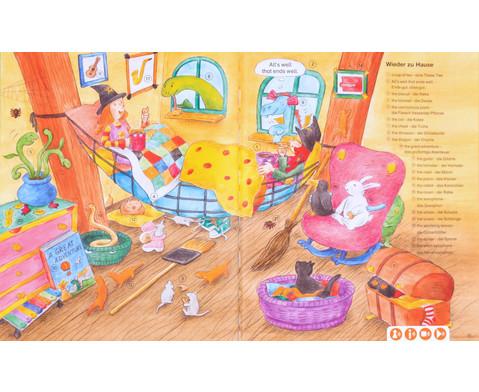 Huckla verzaubert die Schule - Englisch Buch TING-Edition-5