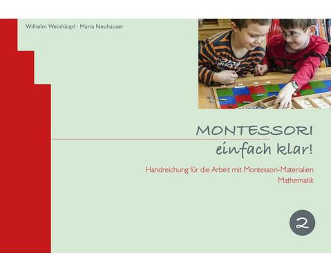 MONTESSORI einfach klar - Band 2