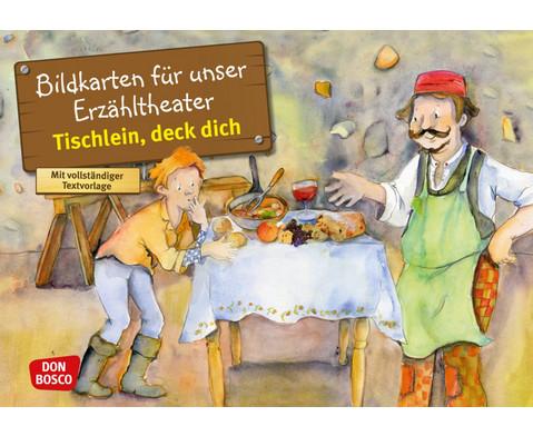 Bildkarten Tischlein deck dich