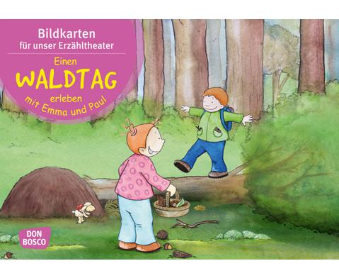 Bildkarten Einen Waldtag erleben mit Emma und Paul