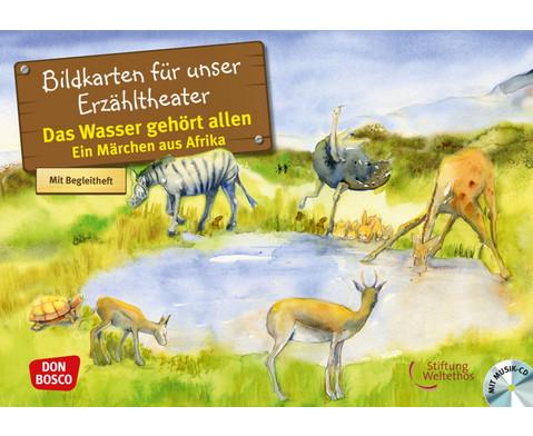 Bildkarten Das Wasser gehoert allen