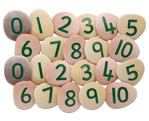 Riesen-Zahlensteine
