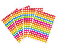 Belohnungssticker bunte Smileys, 660 Stück