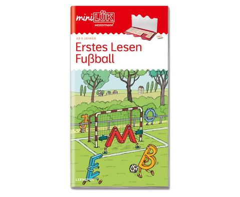 miniLUEK Fussball - Erstes Lesen