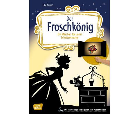 Der Froschkoenig - Schattentheater-Set