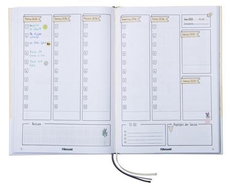 Betzold Design-Schulplaner 2019-2020 Hardcover DIN A4 Plus-4