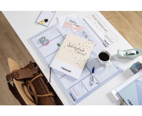 Betzold Design-Schulplaner 2019-2020 Hardcover DIN A4 Plus-6