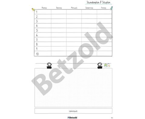Betzold Design-Schulplaner 2019-2020 Hardcover DIN A4 Plus-13