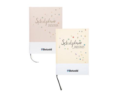 Betzold Design-Schulplaner 2020-2021 Hardcover DIN A4 plus