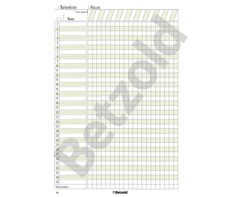 Betzold Design-Schulplaner 2018-2019 Ringbuch-11