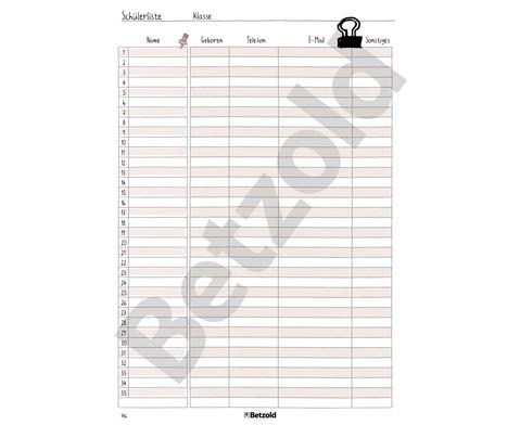 Betzold Design-Schulplaner 2018-2019 Ringbuch-12