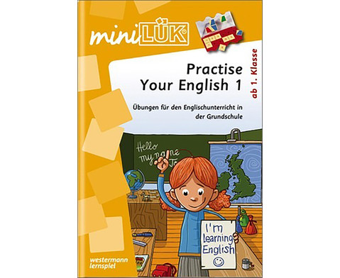 miniLUEK Practise Your English 1