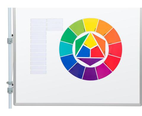 Betzold Farbkreis nach Itten magnetisches Tafelmaterial