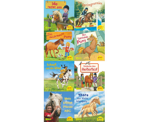 Pferde-Freundschaften Pixi 8er-Set