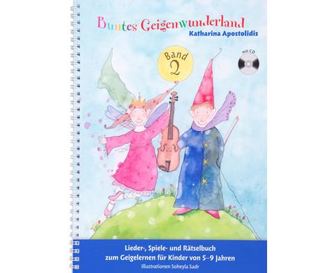Buntes Geigenwunderland Band 2