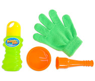 Seifenblasen-Handschuh
