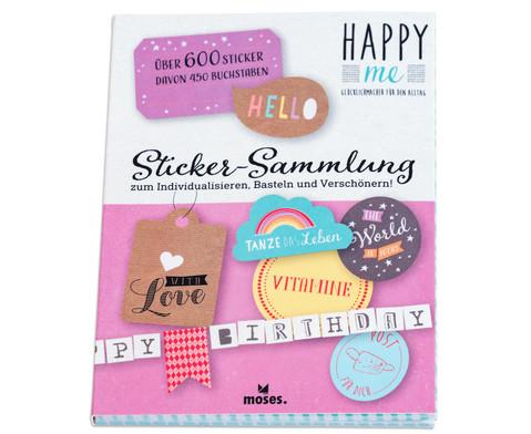 Sticker-Sammlung Happy me ueber 600 Sticker-2