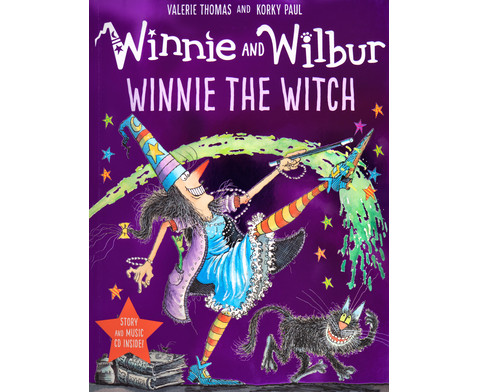 Winnie and Wilbur Winnie the Witch  Audio CD