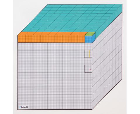 Betzold Die Million - magnetisches Tafelmodell