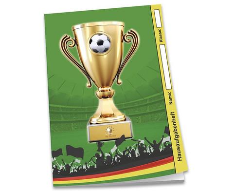 Hausaufgabenheft Fussball DIN A5