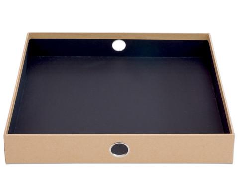 SOHO  3er Schubladenbox Kraft-6