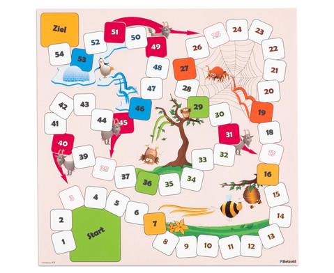 Spielplane - Leiterspiel 75 x 75 cm-1