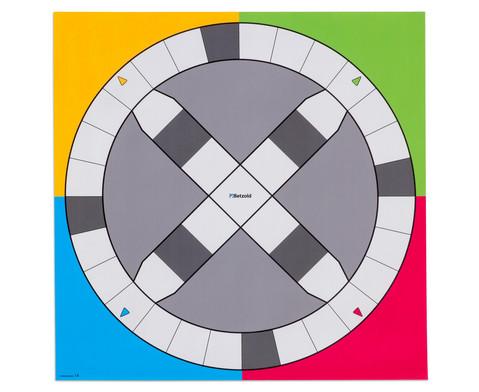Spielplane - Huetchenspiel 75 x 75 cm