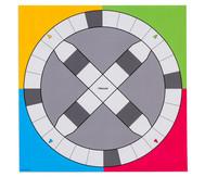 Spielplane - Hütchenspiel, 75 x 75 cm