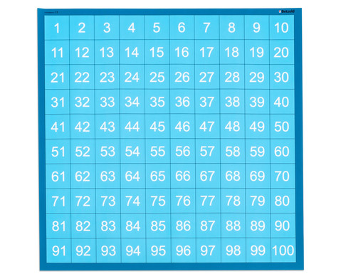 Spielplane - Hunderter 75 x 75 cm