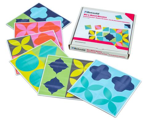 Mix  Match Mosaico Magnetlegespiel