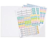 Sticker Design, 4 Bogen