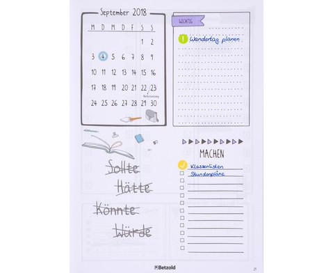 Sticker zum Design-Schulplaner 4 Bogen-7
