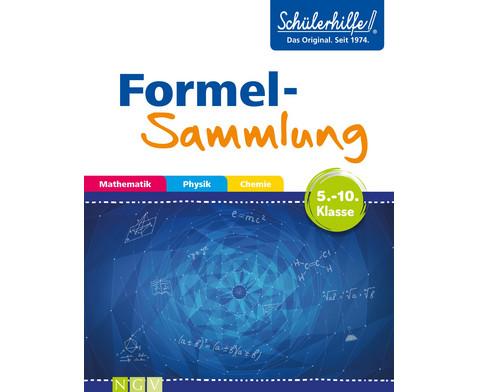 Schuelerhilfe Formelsammlung 5-10 Klasse