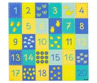 Spielplane - Zahlenraum 20, 75 x 75 cm