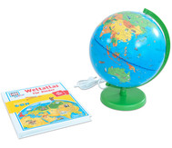 """Was ist Was - Columbus Globus """"Reise um die Erde!"""""""
