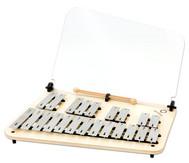 Chromatisches Sopran-Glockenspiel mit Notenhalter