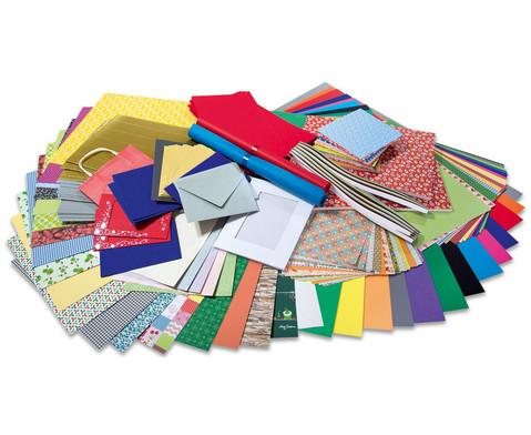 UEberraschungs-Papierpaket