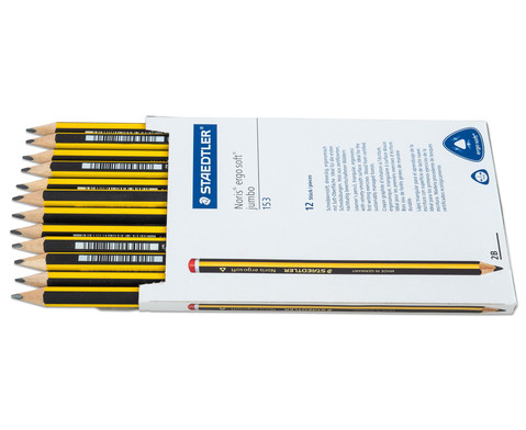 Bleistift ergo soft JUMBO 12 Stueck