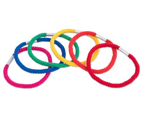 Betzold Sport Regenbogen-Ringe aus Baumwolle 6 Stueck